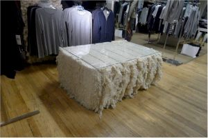 cotton bale table