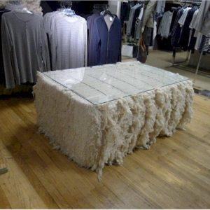 cotton bale table