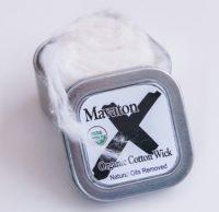 mx vaping cotton wick tin