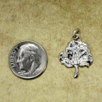 silver boll charm
